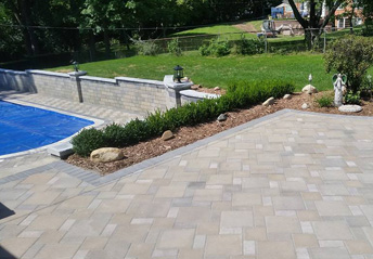 Hardscaping Services in Livonia Michigan | A-Team Hardscapes - pool