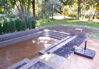 Hardscaping Services in Livonia Michigan | A-Team Hardscapes - steps